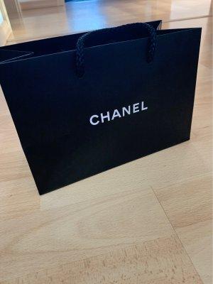 Chanel Borsa shopper nero-bianco