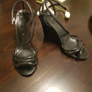 Chanel Pumps met sleehak zwart