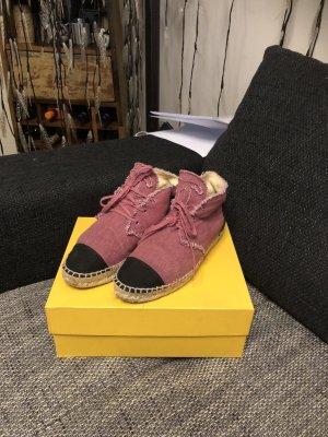 Chanel Zapatillas altas multicolor Lino