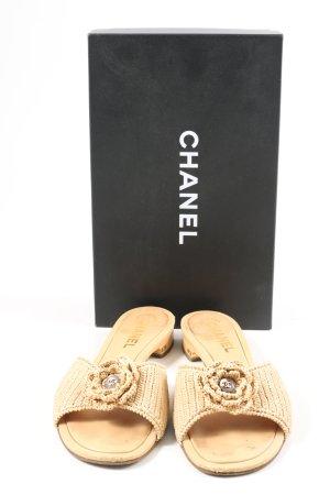 Chanel Sandalias para uso en exteriores multicolor Cuero