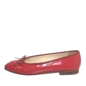 Chanel Patent Ballet Flats