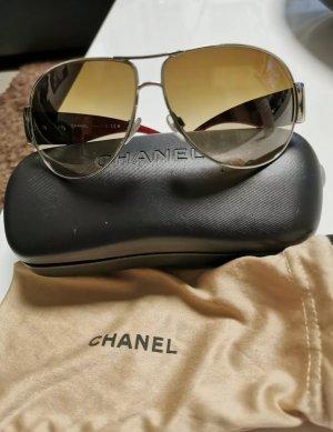 Chanel Gafas de piloto marrón