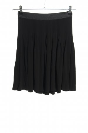 Chanel Pleated Skirt black-light grey casual look