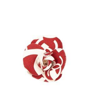 Chanel Spilla bianco Cotone