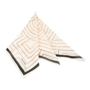 Chanel Sjaal wit Katoen