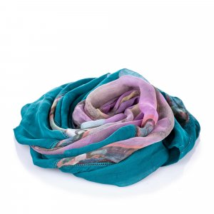 Chanel Printed Silk Scarf