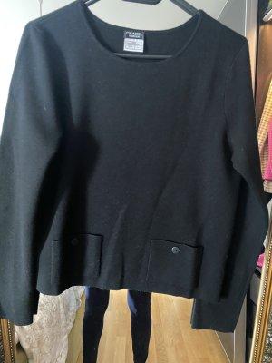 Chanel Pullover L 40 schwarz