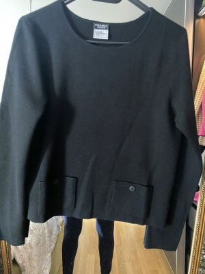 Chanel Crewneck Sweater black