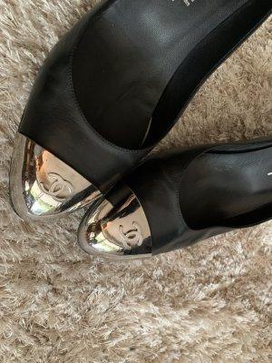 Chanel  nero-argento Pelle