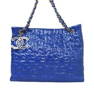 Chanel Tote blauw Imitatie leer
