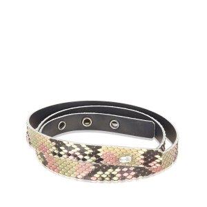 Chanel Cintura nero Pelle di rettile