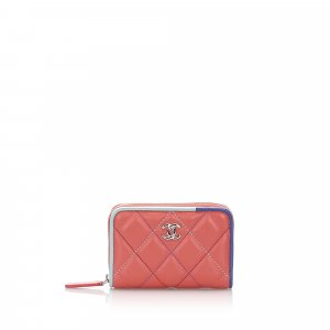 Chanel Quilted Leather Coin Purse