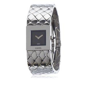Chanel Montre argenté bronze