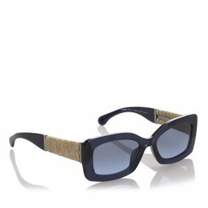 Chanel Sunglasses dark blue