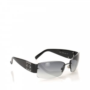 Chanel Sunglasses black metal