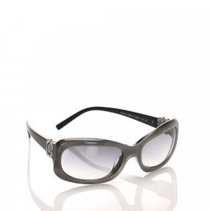 Chanel Rectangle Tinted Sunglasses