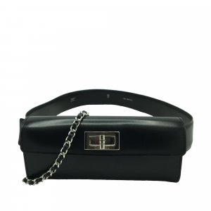 Chanel Bumbag black leather