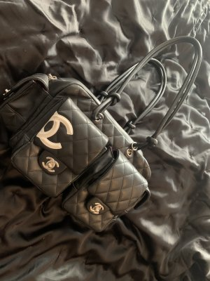 CHANEL REPORTER BAG CAMBON BLACK - ORIGINAL