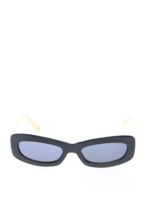 Chanel Occhiale stile retro nero stile casual