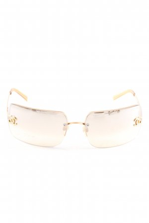 Chanel Retrobril goud casual uitstraling
