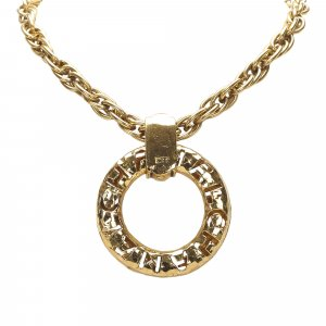 Chanel Ring Pendant Necklace