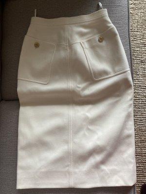 Chanel High Waist Skirt multicolored silk