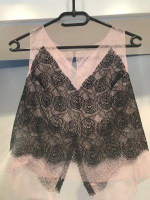 Chanel Koronkowa spódnica czarny Bawełna