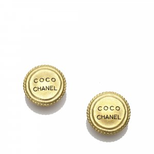 Chanel Round Clip-on Earrings
