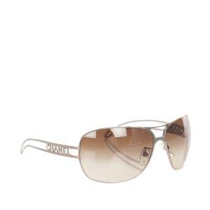 Chanel Sunglasses brown metal