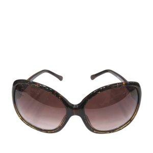 Chanel Zonnebril bruin