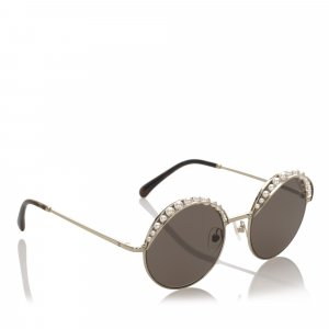 Chanel Sunglasses gold-colored metal