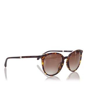 Chanel Gafas de sol marrón oscuro