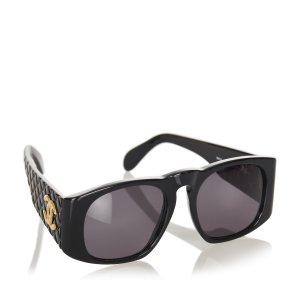 Chanel Occhiale da sole nero