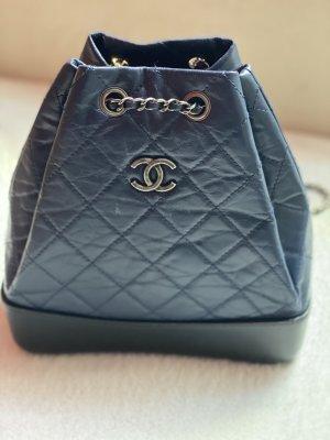 Chanel Mini Backpack black-blue