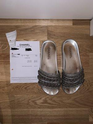 Chanel Sandalo infradito multicolore