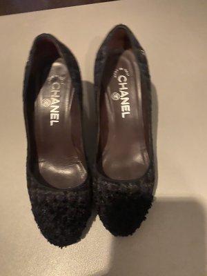 Chanel Schuhe Tweed