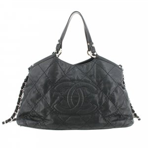 Chanel Sea Hit Leather Satchel