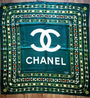 Chanel Seidentuch Grün