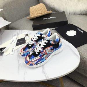 Chanel Instapsneakers veelkleurig