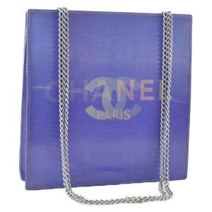 Chanel Handtas violet Textielvezel