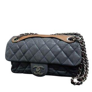 Chanel Borsetta blu Pelle
