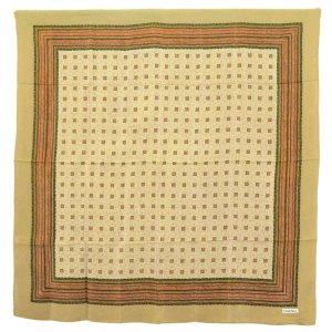 Chanel Gebreide sjaal bruin Zijde