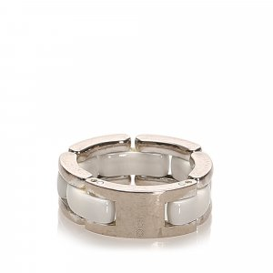 Chanel Silver-Tone Ring