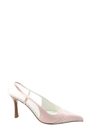 Chanel Slingback-Pumps pink Elegant