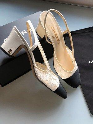 Chanel Décolleté modello chanel nero-crema