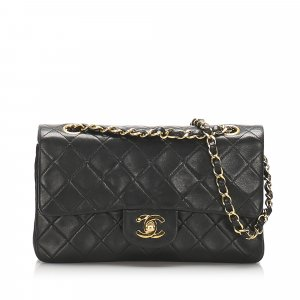 Chanel Small Classic Lambskin Double Flap Bag