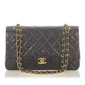Chanel Torba na ramię czarny Skóra
