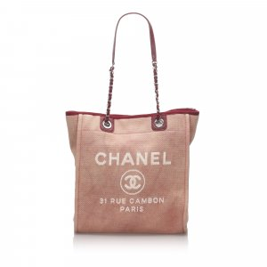 Chanel Small Deauville Tote