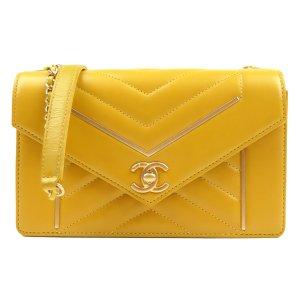 Chanel Small Reversed Chevron Flap Bag