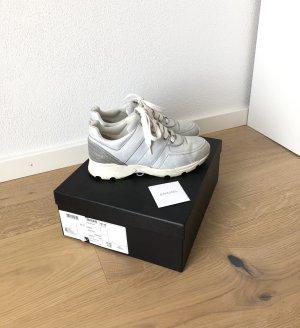Chanel Sneaker Hellblau Silber Original 37,5 38